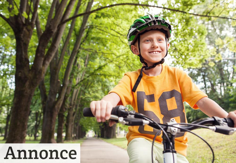 Den rigtige cykelhjelm kan nedsætte risikoen for skader med 75 %