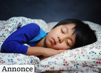 Sørg for mørke, når børnene skal sove
